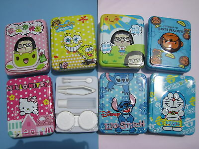Cool & Big Metal Contact Lens Case  (various Styles)