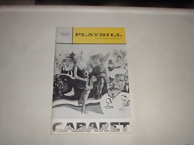 Playbill - Cabaret - April 1968
