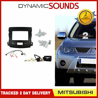 MITSUBISHI Outlander Car Stereo Double Din Radio Replacement Fitting Kit CTKMT03