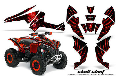 Can-Am Renegade Graphics Kit by CreatorX Decals Stickers SCR