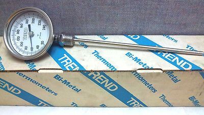 Trend Instruments Bimetal 20-240F Thermometer 31 Cr3205 New 31 Cr3205