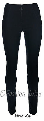 Girls School Trousers Sizes 4 6 8 10 12 14 16 Skinny Straight Leg Black Grey