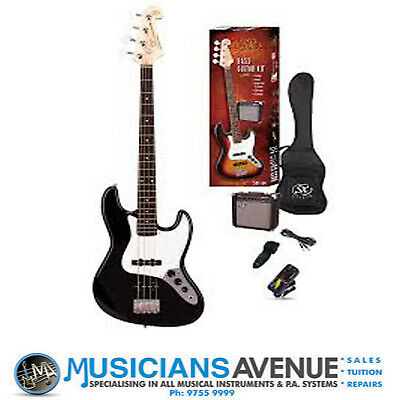 Sx Jazz Bass Guitar And Amp Pack