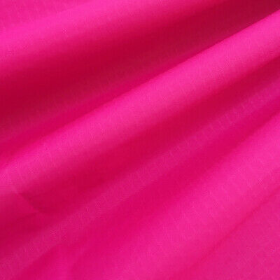 Ultralight Pink Waterproof Ripstop Nylon Fabric UV Resistant Kites Flags Making