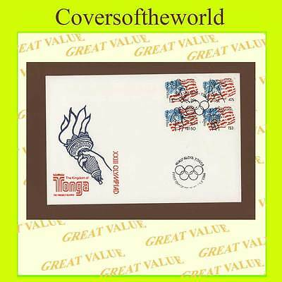 Tonga 1984 Olympic Games set First Day Cover