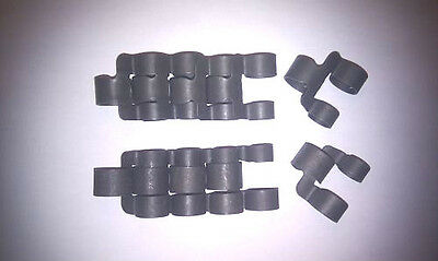 10 X 308/.30-06/8mm/1919 BULLET BELT LINKS,SAS,SBS,ARMY,AIRSOFT,PAINTBALL