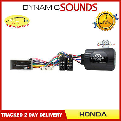 DS-HO003 Steering Wheel Control Stalk Interface FREE PATCH For HONDA CR-V CR-Z