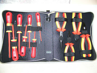 Eclipse 902-218  Pro'sKit PK-2802 1000V Insulated Plier & Screwdriver Set