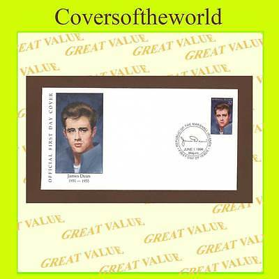 Marshall Islands 1996 James Dean stamp First Day Cover
