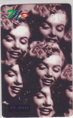 Marilyn Monroe - phone card - ACMI - 10 pm
