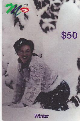 Marilyn Monroe - phone card - ACMI - Winter