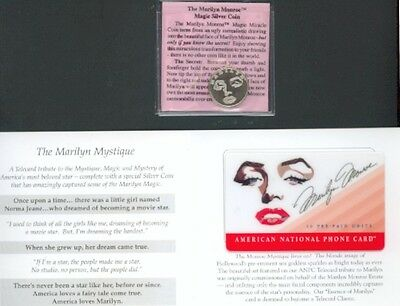 Marilyn Monroe - phonecard - The Marilyn Mystique