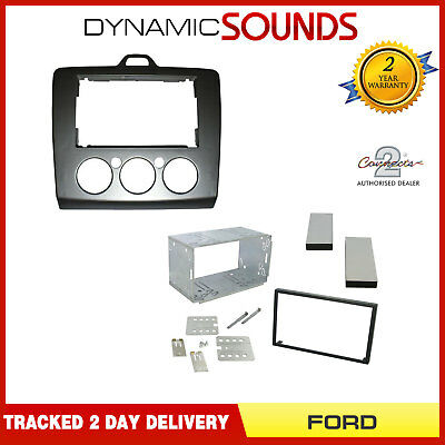 DFPK-07-17 Car Stereo Double Din Fascia Panel Fitting Kit For FORD Focus 2006>