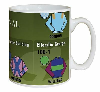 Horse Racing Grand National Personalised Mug - Unique Gift Xmas Offer