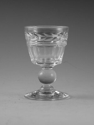 "STUART Crystal - ARUNDEL Cut - Liqueur Glass / Glasses - 2 1/2"" (2nd)"
