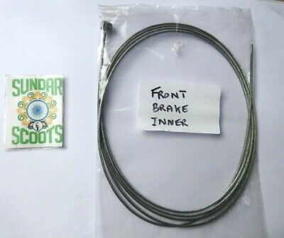 Brand New.  Inner Front  Brake Cable. Suitable For Lambretta Scooters