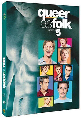 2144 // Queer As Folk Saison 5 Coffret 4 Dvd  L'integrale Neuf Sous Blister
