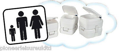Fiamma Bi Pot 34 Portable Caravan And Camping Toilet, Sanitary  01354-01-