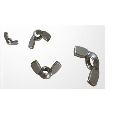 A2 Stainless Steel Wing Nuts SMALL QUANTITIES Available M3 M4 M5 M6 M8 M10 M12