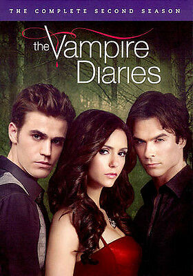 The Vampire Diaries: The Complete Second Season DVD NEW SEALED