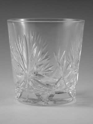 "EDINBURGH crystal - STAR of EDINBURGH - Tumbler Glass / Glasses - 3 1/8"" Flared"
