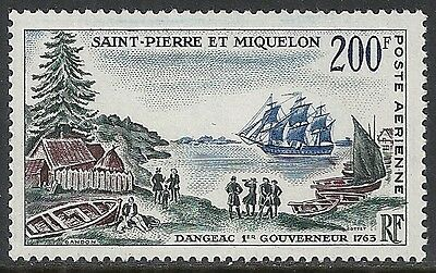 St.Pierre&Miquelon stamps 1963 YV Airmail 30  MLH VF