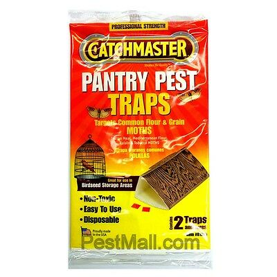 6 Traps-Catchmaster Moth GlueTrap Food & Pantry-Pantry moth trap
