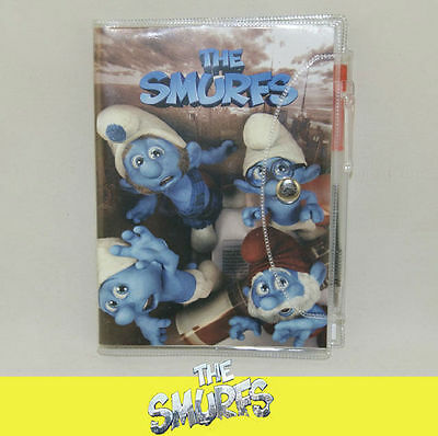 The Smurfs BRAINY CLUMSY GUTSY PAPA Kid School Note Book Notebook Pen DL06c