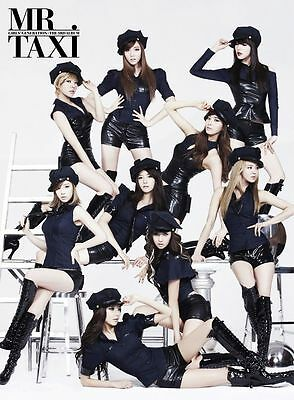 Girls' Generation - The Boys (Mr. Taxi Ver.) [CD + Postcard + Poster + Gift]