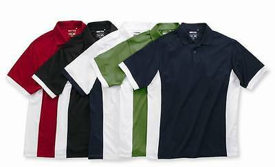 ADIDAS GOLF - Men's S-3XL ClimaCool Polo, Colorblock, Dri Fit Sport Shirts, A28