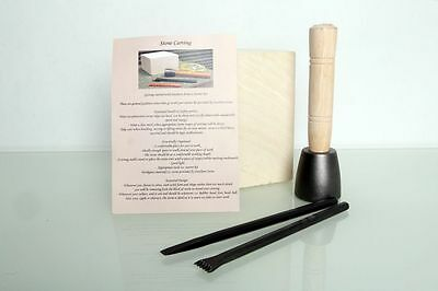 Stone Carving Starter Kit - 5 Piece