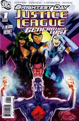 Justice League Generation Lost #1-10, 12 Brightest Day