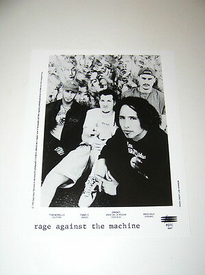 1993 Rage Against the Machine Epic/Sony Publicity Photo