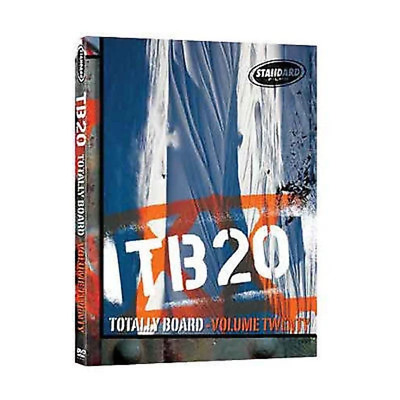 Standard Films TB20 Snowboard DVD Multi region New
