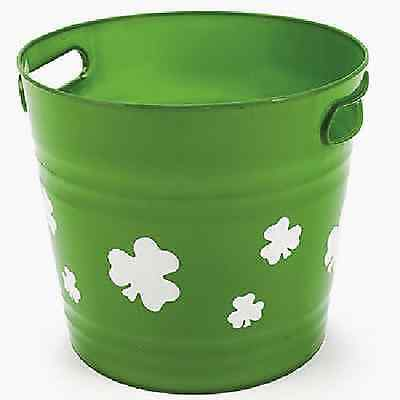 St. Patrick's Day Bucket / LOT OF 4 PC / ST PATRICKS DAY (33277)