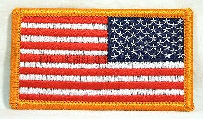 Lot of 25 American Reverse Right Shoulder Flag US Military Patch Patches NIP