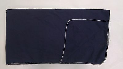NAVY BLUE COTTON FENDER COVER  36x60- MADE IN THE USA