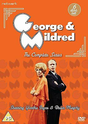 George and Mildred Complete Series 1-5 DVD NEW & SEALED (6 Discs) Every Episode!