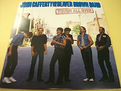 JOHN CAFFERTY and THE BEAVER BROWN BAND Tough All Over JAPAN LP C25Y0128
