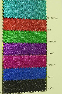 """Lame Allure Metallic Fabric 60"""" Wide  Choice Of Color 1 Yd Holiday Costume Decor"""
