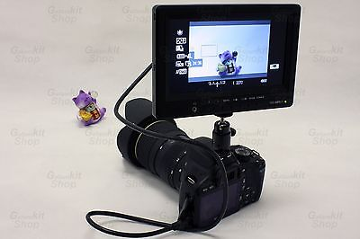 7 Inch Professional Photography HDMI DSLR LCD Monitor Kit Set - Canon 5DIII 70D