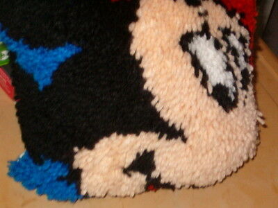 Latch Hook  Mickey Pillow  12 By 12