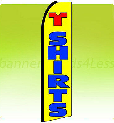 Swooper Feather Flutter Tall Banner Sign Flag 11.5 ft - T SHIRTS q
