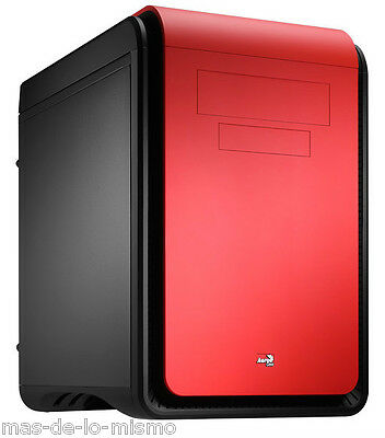 Caja Gaming AeroCool Dead Silence DS Cube Red Edition mini Torre m-ATX USB 3.0