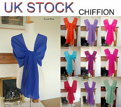 Hand Made Chiffon Satin Shawl Scarves Wraps for wedding party