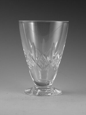 STUART Crystal - GLENGARRY Cut - Footed Juice Tumbler - 3 7/8""