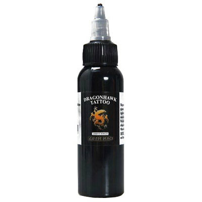 Dragon Hawk Tribal Black Tattoo Ink 2OZ/60ml OZ stock