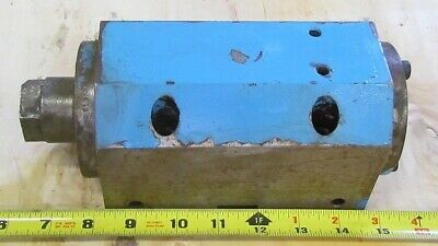 "Setco L-5184-260.01 Spindle Precision Box 3 3/4"" High 4""Wide 9 1/8""Long 1/4""Thru"