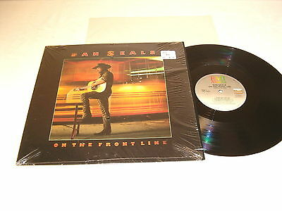 """Dan Seals """"On The Front Line"""" 1986 Country LP, Nice NM-!, Vinyl, with Shrink"""