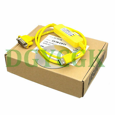 CS1W-CIF31 Programming Cable USB to RS232 Conversion for omron PLC WIN7 VISTA XP